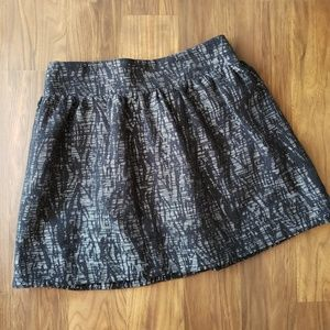Forever 21 Black and silver bubble skirt